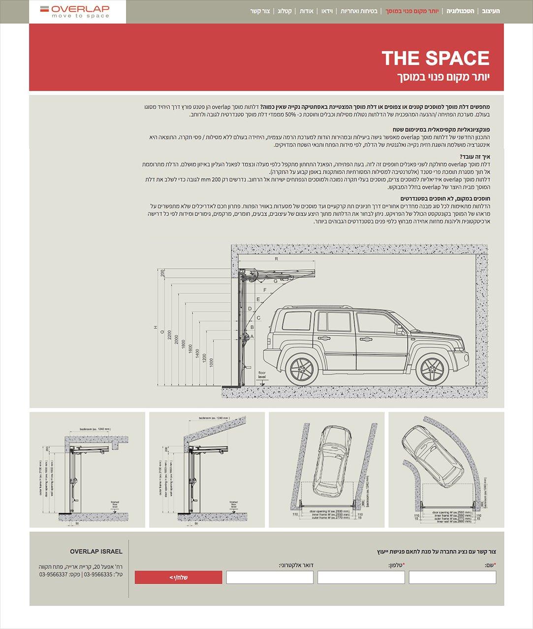 עיצוב אתרים - איפיון עמוד תוכן באתר