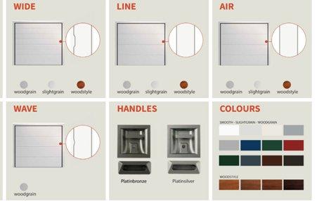 הצגת אפשרויות עיצוב נרחבות של המוצר באתר