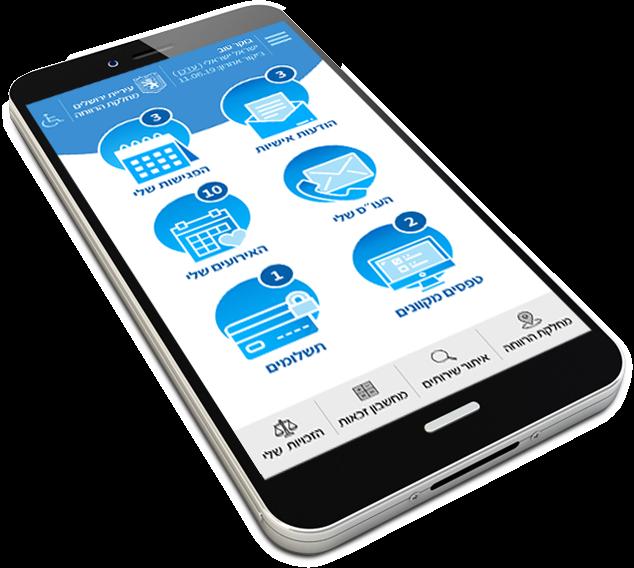 אפליקציית רווחה לתושב<br> עיריית ירושליים - Ness AT - תמונה ראשית
