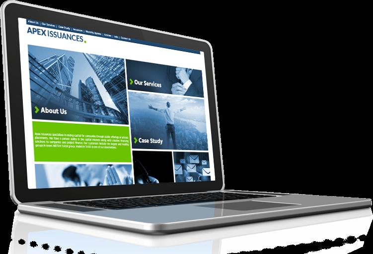תמונה ראשית עיצוב אתרים איפקס הנפקות