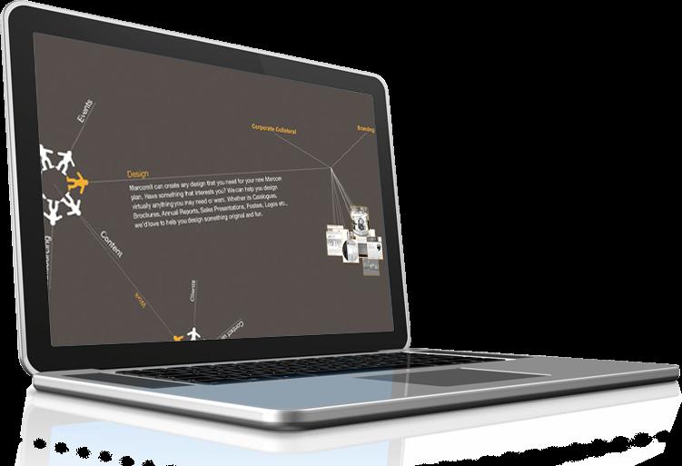 תמונה מיצגת את עיצוב האתרים למרקומית