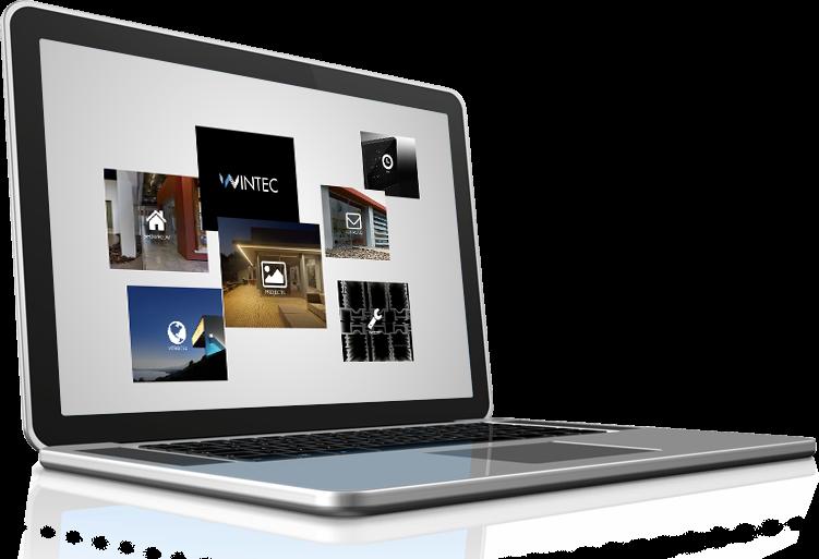 תמונה הממחישה את עיצוב אתר וינטק